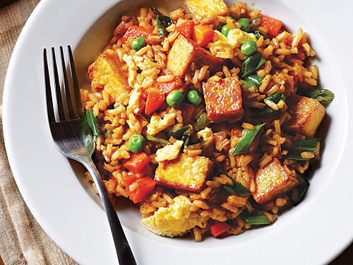 Tofu Fried Rice