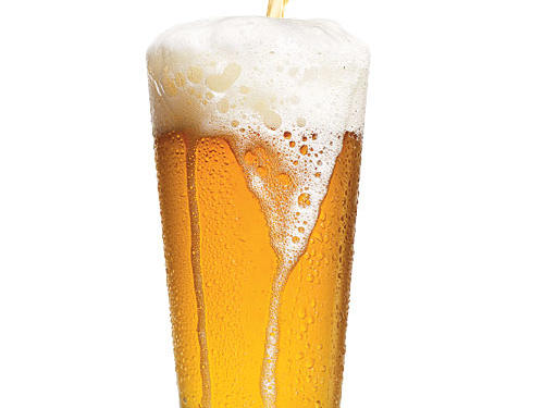You choose lighter-colored beer over dark to save on calories