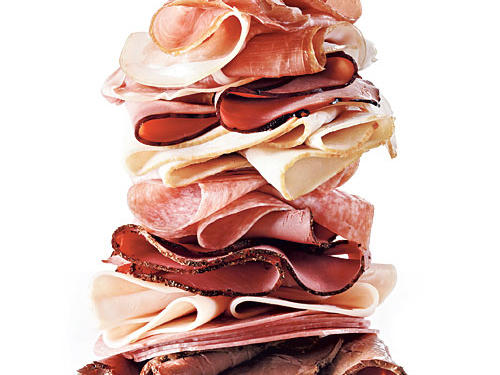 You buy lean cold cuts and pile them high on your sandwich