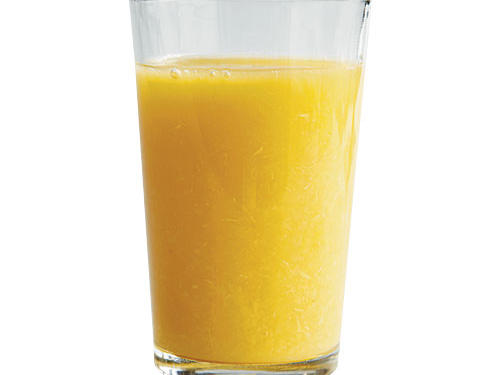 39. You guzzle pulpy OJ to up your fiber intake