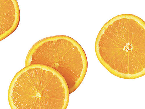 You bolster your immune system with extra vitamin C