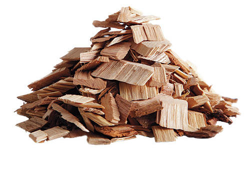 You don't soak wood chips
