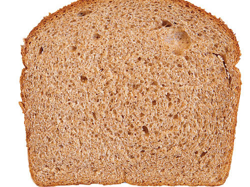 You always opt for high-fiber bread over 100% whole wheat