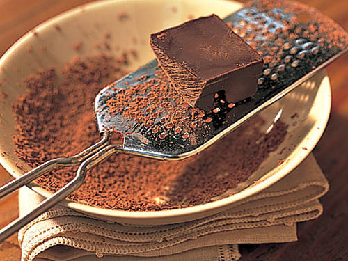 How to Grate & Shave Chocolate