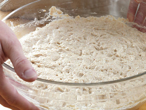 Step One: Mix Initial Dough
