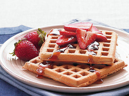 Weekend Morning Waffles