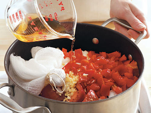 3. Simmer Ingredients in a Dutch Oven