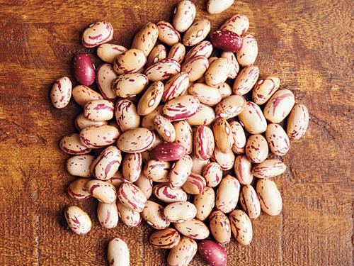 Thin skins yield to a creamy texture with earthy flavor in these beans, also known as cranberry beans because of their deep red spots. Think of these when making Italian dishes, such as this one listed below.
