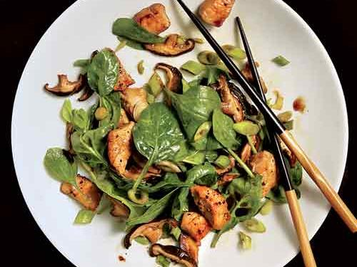 Dinner Salads with Poultry and Meats - Cooking Light