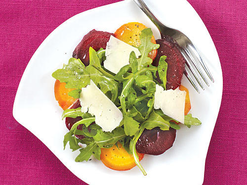 For some, beets have a bad rap. But this salad will change your mind. Sweet, roasted beets combined with peppery arugula and salty cheese may just leave you a beet fanatic.
