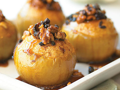 Walnut-Stuffed Apples