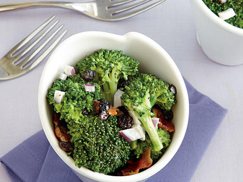Premade broccoli salads are delicious from grocery stores, but making your own is fun and much more cost effective. This is great way to get kids to eat veggies – even the notorious broccoli.