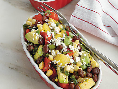 Black Bean and Corn Salad with Mango