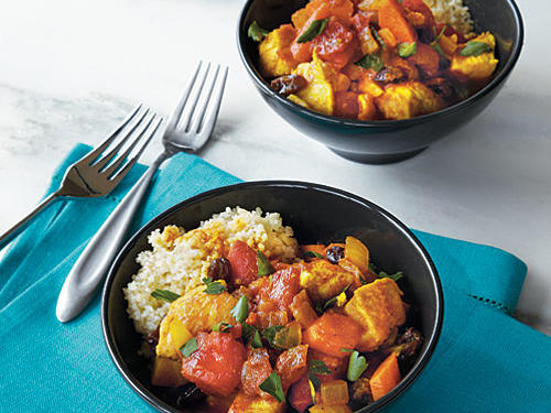 Couscous with Chicken and Root Vegetables