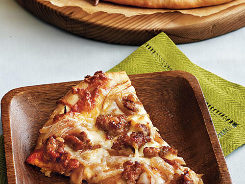 This pizza is a definite crowd-pleaser that is sure to satisfy everyone in the house!