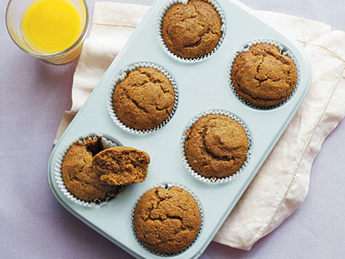 Whole wheat flour dons an excellent disguise in these delicious muffins, a treat for both kids and adults.