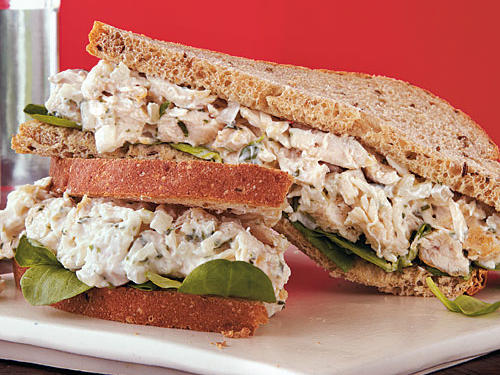 Tarragon and rye bread make a classic chicken salad sandwich extra special. You can make the chicken salad ahead. If you're packing it to go, keep the salad cold, and make your sandwich right before you're ready to eat to keep the bread from getting soggy.