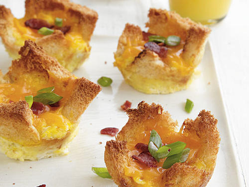 Mini Bacon and Egg Tarts
