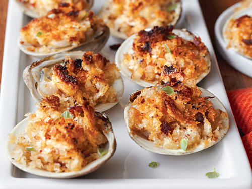 New Jersey Recipe: Baked Clams