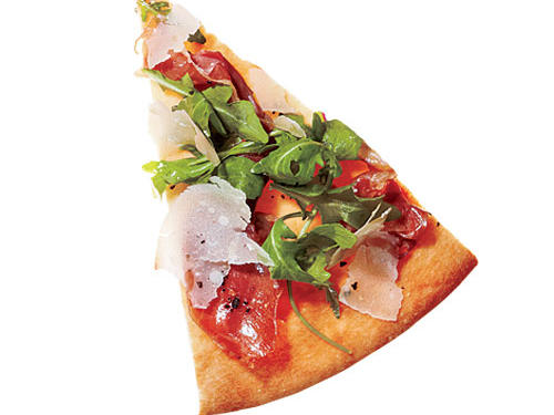 Midwest: Peppered Prosciutto & Parmesan Pizza