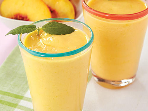 Fresh Peach Smoothie