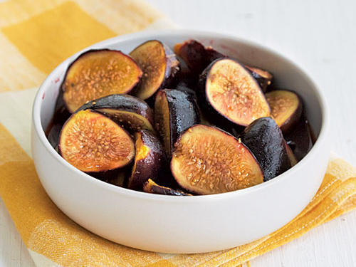 West: Marsala Poached Figs