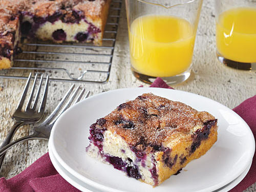 LUA Maine Blueberry Cake