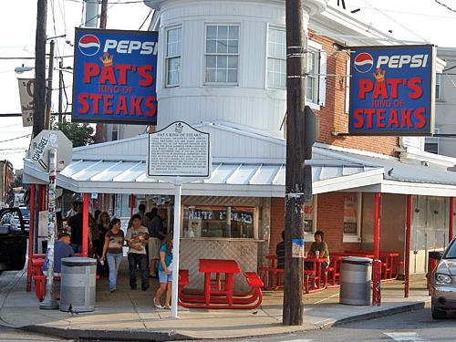 Pat's Philly Cheesesteak