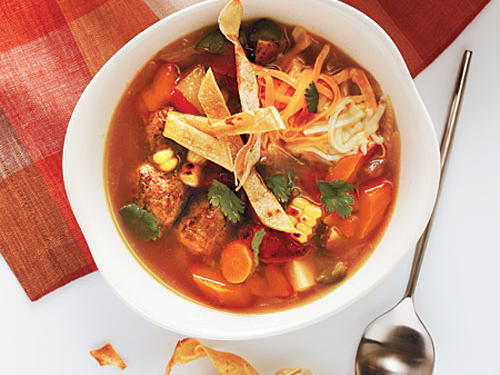 Southwest: Tortilla Soup