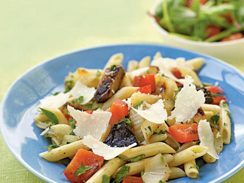 Top-Rated Vegetable Recipe: Herbed Penne with Simple Grilled Vegetables