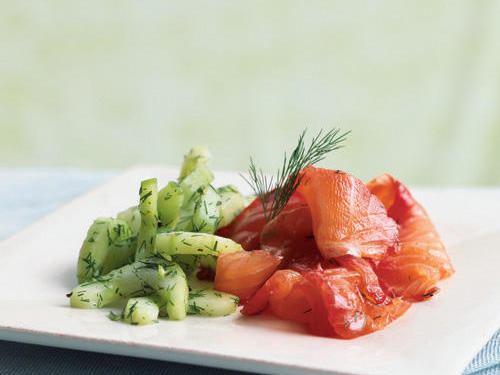 Summer is the best time for wild Pacific Northwest salmon, and Pacific Northwest salmon is the best kind to use in this dish. Combined with fresh beets and dill, and contrasted by the cool, crisp cucumber salad, this salmon is a dish you'll be begged to make again.