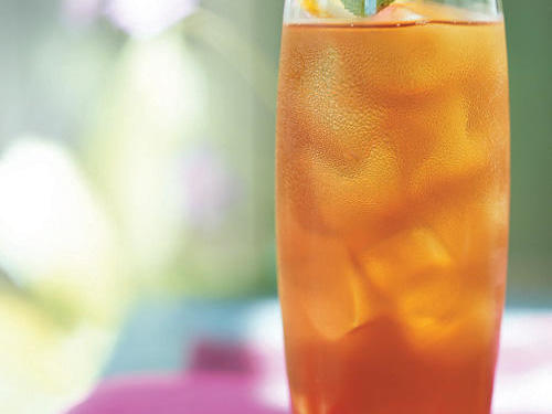 Nothing is more refreshing on a hot day than a tall glass of sweet tea with just the right amount of tart lemon flavor, especially if sipped in a rocking chair on the porch. The bright citrus flavor of the lemon-verbena syrup will also add sparkle to a variety of cocktails, so make an extra batch.