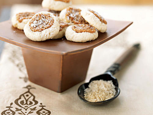 Healthy Sesame Sweets Cookies Recipe