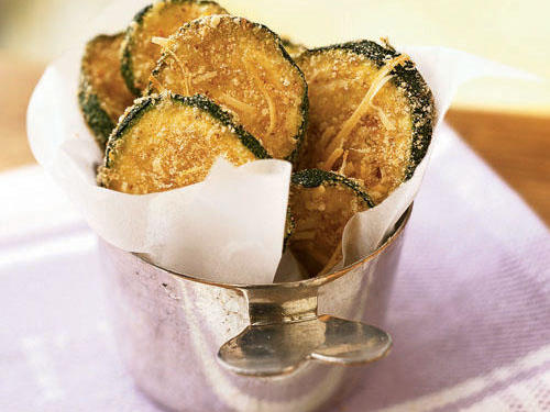 Kid-Friendly Zucchini Oven Chips