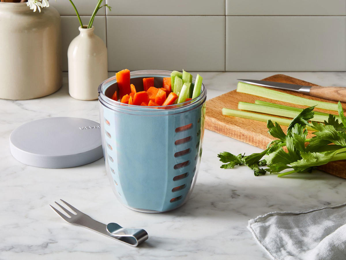 These Portable Produce Containers Will Keep Your Snacks Fresh While on the Go