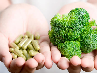 Nutrients from dietary supplements