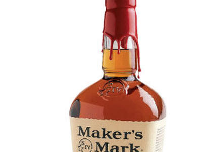 Bourbon Whisky Bottle