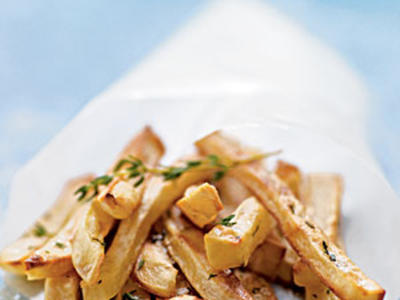 steak frites with shallot pan reduction