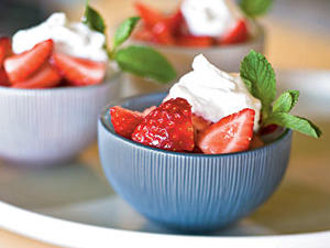 Top-Rated Fruit Recipe: Strawberries in Meyer Lemon Syrup
