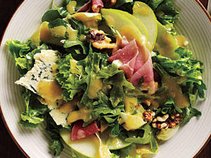 Fall Salad with Apples, Walnuts, and Stilton Recipes