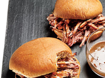 Pulled Pork Sandwiches with Mustard Sauce Recipe