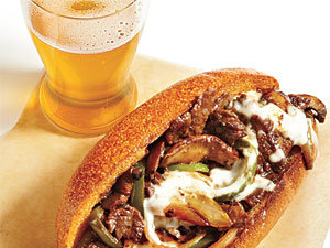 Lighter Cheesesteak