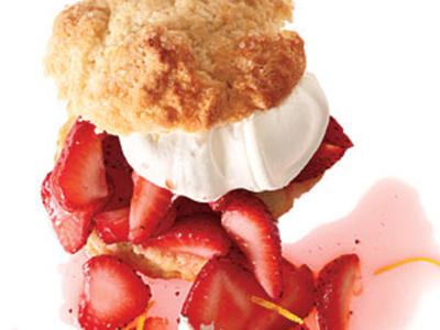 Strawberry-Lemon Shortcakes Recipes