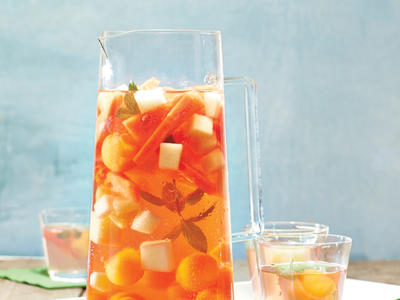 Summer Melon Rose Sangria