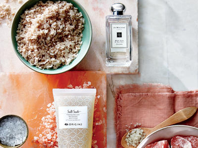 Salt-Infused Beauty Products