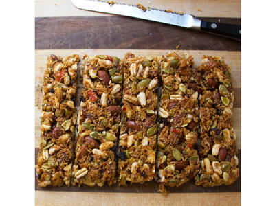 no bake energy bars image