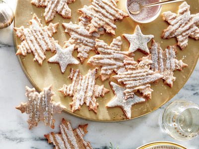Iced Whole-Wheat Sugar Cookies