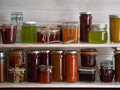 Artisan Jam Jelly Jars
