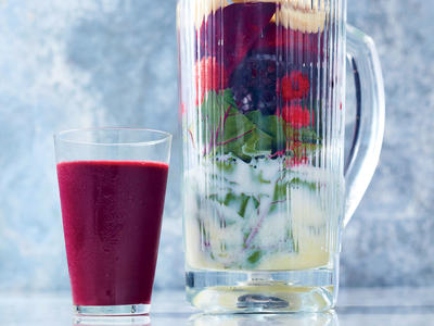 Berry-and-Beet Green Smoothie