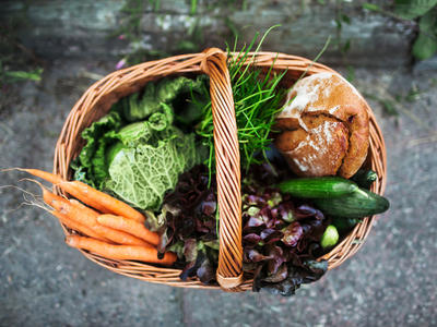 Fresh Vegetable Basket